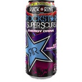 Rockstar Energy SuperSours Blue Raspberry 500ml (DE) Rock am Ring