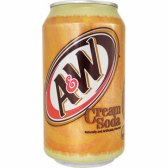 A&W Root Beer - Cream Soda 355ml (USA)
