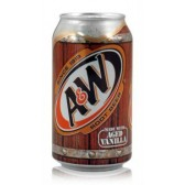 A&W Root Beer - 355ml (USA)