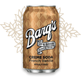 Barq's - French Vanilla - Creme Soda (355ml - USA)