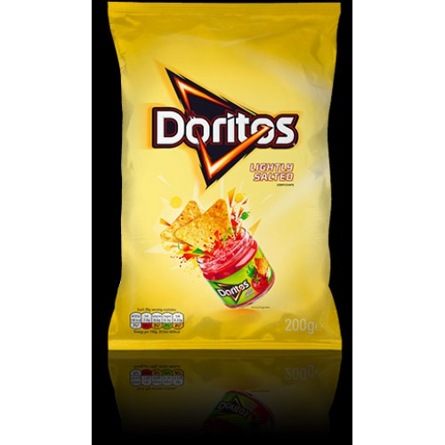 Doritos - Lightly Salted (200g)