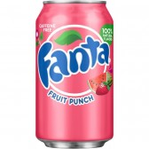 Fanta Fruit Punch 355ml - USA