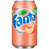Fanta Peach 355ml - USA