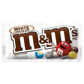 Bomboni M&M's - White Chocolate (43g)