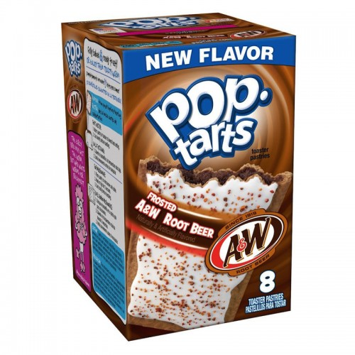 PopTarts - A&W Root Beer- 8 kom - SUPER LIMITED EDITION!