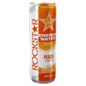 Rockstar Energy Water Peach 355ml