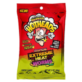 Warheads - Hotheads - Extreme Heat Worms - Tropical (141g)