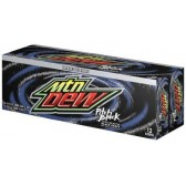 Mountain Dew - Pitch Black 355ml (12pack)